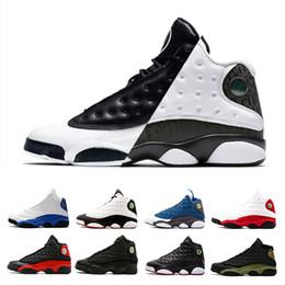 Discount got games - Designer 13 He Got Game Phantom men basketball shoes Black Cat Bred Italy Blue Hyper Royal Love Respect Grey Toe Barons
