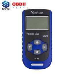 Obd Tool Vag Australia - Vgate VS450 OBD2 Diagnostic Reader Scanner Tool For Audi VW Car VAG Auto Automotive Diagnosis Tester Scan OBD 2 II OBDII Scaner