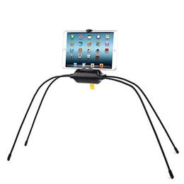 Mobile Tablet Stand Australia - Universal Lazy Spider Stand Smartphone Tablet Holder Folding Mobile Phone Holder Adjustable Bed Sofa