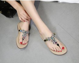 Women Genuine Leather Slides Australia - Hot Sale-Women Sandals Designer Shoes Coloured diamond Slide Summer Fashion Genuine leather Slippery Sandals Slipper Flip Flop size 35-44
