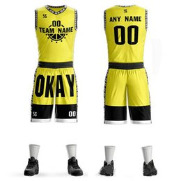 $enCountryForm.capitalKeyWord Australia - Wholesale Custom bright colour College League Basketball Jersey uniform diy any LOGO Number Team Jerseys & Shorts Set Mens women Youth kids