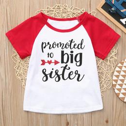 Manga Clothes Australia - 2019 Toddler Baby Boys Girls Short Sleeve Letter Print Tops T-Shirt Clothes T-shirt Kids Manga Comprida Tee Shirt Fillette