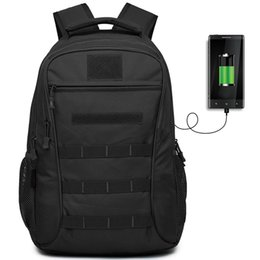 6ff474a06750 50L Outdoor Sport Military Tactical Bag Climbing USB Charging Laptop  Backpack Camping Hiking Trekking Rucksack Travel Bags  109164