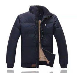 Großhandel Ralph Polo Lauren-Mann-Winter-Jacken-Klassiker LuxuxMens Pony Marke Daunenjacke High End-Stickerei-Pony Logo Mantel Outdoor-Warm Jacke Top