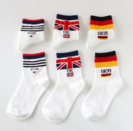 69813e2bd3c947 mens women designer socks sock new cotton ladies tube socks tide section flag  Japanese striped factory