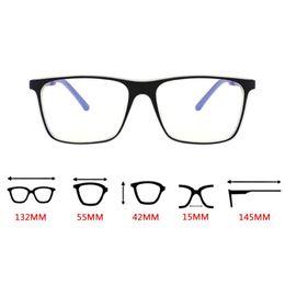 $enCountryForm.capitalKeyWord UK - Anti Blue Light Aluminum Magnesium Eyeglasses - Computer Phones TV Glasses Stripe Legs TR90 Frame Men Women Goggle