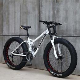 Опт 26 дюймов регулировки скорость 21-ступенчатой коробки передач внедорожного пляж снегоходов для взрослых супер широкого +4,0 большой горный велосипед шины