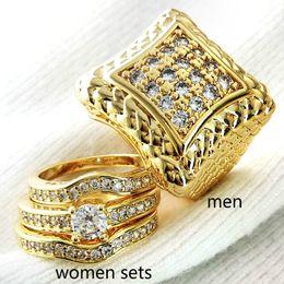 $enCountryForm.capitalKeyWord Australia - Claw setting zircon Men women ring wedding Couple Domineering men size 8 to 15, women size 5 to 10 r105,179