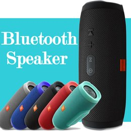 Wholesale JBL Charge 3 Altoparlante wireless Bluetooth Altoparlanti portatili portatili impermeabili Scatola audio piccola Caleidoscopio Audio multiplo con microfono