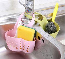 $enCountryForm.capitalKeyWord Australia - Wash organizer storage basket kitchen tap hang basket bath rooms taps collect storage basket home suuplies