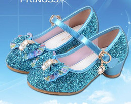 sandals for flower girls Australia - 2020 New Children Princess Pearl Beading Sandals Kids Flower Wedding Shoes High Heels Dress Shoes Party Shoes For Girls Pink G946