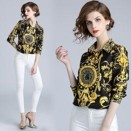 b1c9dae289830 Luxury siLk bLouses online shopping - New Luxury Women s Vintage Silk Shirts  Spring Autumn Office