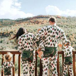 BaBy matching online shopping - Christmas Tree Family Matching Outfits Cartoon Christmas Tree Pajamas Romper Adults Baby Clothes Kids Sleepwear Nightwear Homewear Set