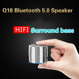 $enCountryForm.capitalKeyWord Australia - Q18 Bluetooth Wireless Speaker Metal Mini Portable Sound Box Outdoor Stereo Surround Super Bass Hifi Loudspeaker for Phone PC