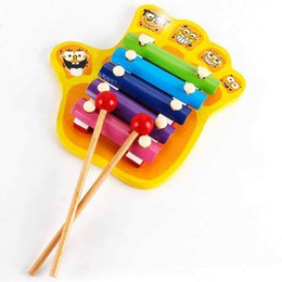 $enCountryForm.capitalKeyWord Australia - Wooden Baby Kid Finger 5 scale hand knock on the piano Xylophone on the piano toy Wisdom Development Musical Instrument Toy