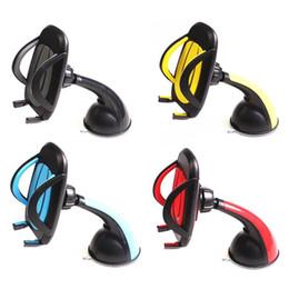$enCountryForm.capitalKeyWord Australia - 360 Degree Rotation Phone Sucker Type Windshield Smartphone Mount Holder Stand Car Styling Accessories