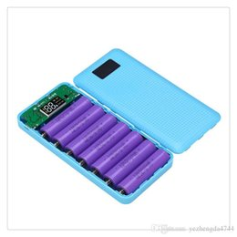 $enCountryForm.capitalKeyWord Australia - 7x18650 External Backup Battery case DIY 3-port USB Portable Source Power Station Case with LED Flashlight(No battery) Hot Sale