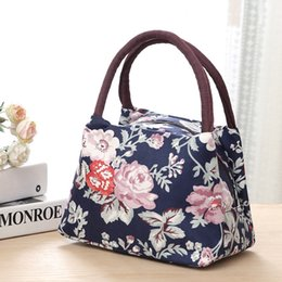 fold hand bag Australia - 1Cartoon Trumpet Easy Bag Handbag Lovely Fresh Lunch-box Sack Mommy Hand Carry Woman Small Cloth Package