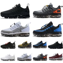 8dd5f8cdead5 2019 Run Utility Men Running Shoes Best Quality Black Anthracite White  Reflect Silver Discount Shoes Sport Sneakers Size 40 45 Heels Shoes Online  From ...