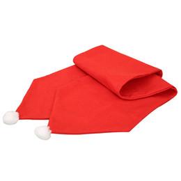 $enCountryForm.capitalKeyWord UK - Christmas Table Runner 34*174cm Tablecloth XMAS Party Dinner Table Decor Home Hotel Christmas Decoration 2018 New