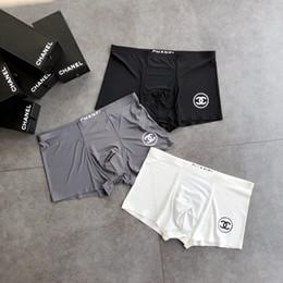 a464e179f957 With box Designer black Brand Men Underwear Fashion Sexy Mens Boxers  Underwear Men Boxer Short Male Luxury Male Underpants A19