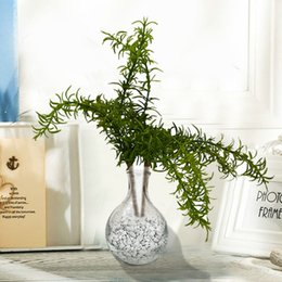 $enCountryForm.capitalKeyWord Australia - Green Artificial Plant Tree Branches Simulation Plastic Leaves Bundle Party Wedding Decoration Desktop Home Garden Fake Foliage