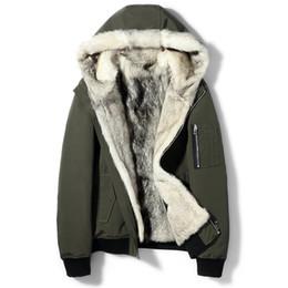 1cc5aa8d64b3 Detachable shorts men online shopping - Winter Jacket Men Real Fur Coat  Natural Wolf Fur Parka