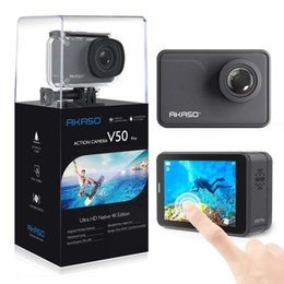 Professional Dv Camera Australia - Akaso V50 Pro 4K WIFI Waterproof Action Camera 20MP Sports DV DVR Camcorder