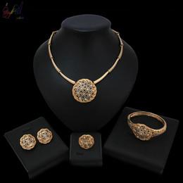 b4873f4598 Yulaili earings Fashion Jewelry 2019 Jewelry Circle Shape Design With High  Quality For Nigerian Women Jewelry Sets