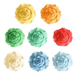 $enCountryForm.capitalKeyWord Australia - 30CM DIY Paper Flower Decoration Artificial Flower For Wedding Birthday DIY Kindergarten Video Tutorial Rose Paper Crafts