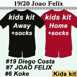 $enCountryForm.capitalKeyWord Australia - 19 20 JOAO FELIX Kids Kit Soccer Jerseys New KOKE DIEGO COSTA Home Red Child Football Shirts H. HERRERA Socks Camisetas de Futbol Uniforms