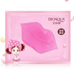 $enCountryForm.capitalKeyWord Australia - 1Pc Beauty Lip Care Plumper Crystal Collagen Lip Mask Pads Moisture Essence Anti Ageing Wrinkle Patch Gel Lips Care Enhancer Gel