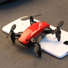 Camera Modes Australia - 2.4Ghz Mini Foldable Drones RC Camera Drone 3D Flip One-Key Return Headless Mode Altitude Hold FPV WIFI 720P HD RC Quadcopter