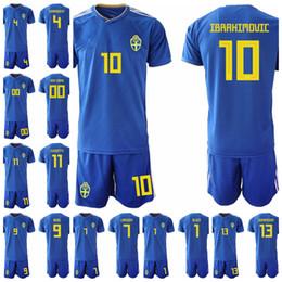 64fd61d8e8b Football name set online shopping - Men Sweden Soccer Emil Forsberg Jersey  Set Robin Olsen Football
