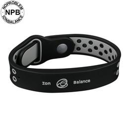$enCountryForm.capitalKeyWord NZ - Noproblem Bio Health Benifits Ion Balance Power Therapy Silicone Sports Choker Tourmaline Germanium Wristband Bracelet Y19051302
