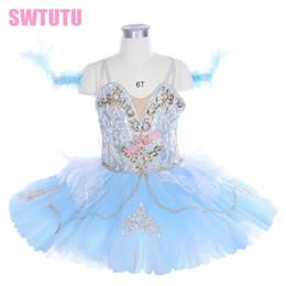 ac13b032b child light bluebird competition professional tutu girls classical ballet  tutu ballerina dress BT9243