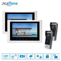 "$enCountryForm.capitalKeyWord Australia - JeTone 10"" TFT Video Door Phone Monitor Home Security Intercom for House &High Resolution IR Night Vision Door Entry Intercom System"