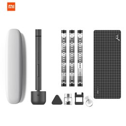 China Original XIAOMI Mijia Wowstick 1F+ 64 In 1 Electric Screw Mi driver Cordless Lithium-ion Charge LED Power Screw mijia driver kit cheap screw power suppliers