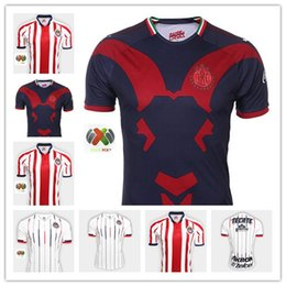 2c8f8ff88 2019 New chivas sleeve home away soccer jersey 18 19 Mexico liga mx  Guadalajara jerseys PIZARRO 110 Retro chivas football shirt