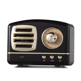 $enCountryForm.capitalKeyWord Australia - Creative retro Bluetooth audio mini portable U disk TF card high quality aluminum alloy with FM Bluetooth small speaker