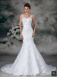 Hot Sexy White Dresses Australia - 2019 Robe de Mariage white Mermaid Wedding Dresses 2019 court train v neck sleeveless stylish wedding gowns sexy bride dresses hot sale