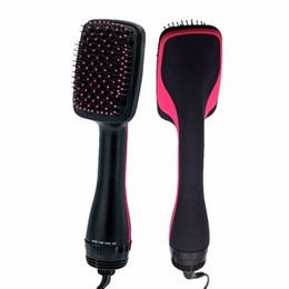Flat combs online shopping - Multifunctional Hair Dryer Rotating Hot Hair Brush Curler Roller Rotate Styler Comb Styling Curling Flat Iron Curler Hair Comb