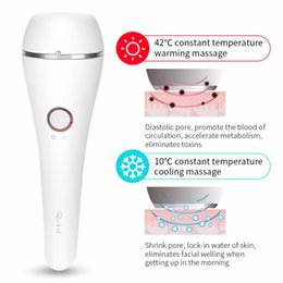 $enCountryForm.capitalKeyWord Australia - Electric Hot & Cold Vibration Photon Face Massager Anti-Aging Lifting Device ion Detox Pore Cleaner Light Therapy Machine