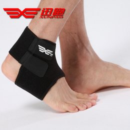 $enCountryForm.capitalKeyWord Australia - 2017 Hot Sale Adjustable Ankle Support Pad Protection Elastic Brace Guard Support Ball Games Running Fitness Ankle Sleeve