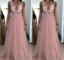 7b9720337d5 Prom dress sequin toP cheaP online shopping - Dusky Pink A Line Bridesmaid  Dress For Weddings