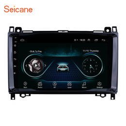 Stereo Gps Mercedes Australia - 9 inch Android 8.1 Car Stereo for 2004-2012 Mercedes Benz B W245 B150 B160 B170 B180 B200 B55 with GPS Navigation WIFI support DVR TPMS DAB