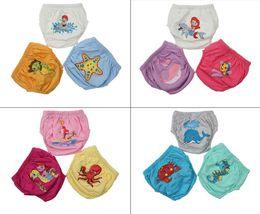 $enCountryForm.capitalKeyWord NZ - 3 Pcs Reusable Baby Cloth Diapers Potty Training Pants Waterproof Infant Toilet Training Pant Underwear Swimming Nappy Panties
