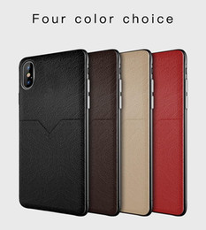 $enCountryForm.capitalKeyWord Australia - New luxury case cell phone case cover with pocket credit card slot holder for iphone XR XS MAX X 6S 7 Samsung Galaxy S8 S9 S10 Plus Note 8 9