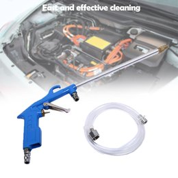 engine cleaning NZ - Cleaning water gun Powerful Lengthen Air Tool Oil Engine Cleaning Handle Solvent Air Sprayer Degreaser Car Tool 6