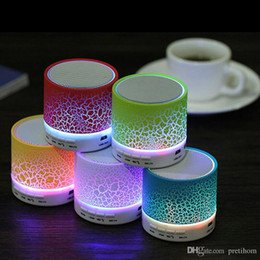 Iphone Stereo Player Australia - wholesale Bluetooth Speaker LED A9 Subwoofer Stereo HiFi Player for IOS Android Phone Wireless Speaker for iphone sumsang huawei
